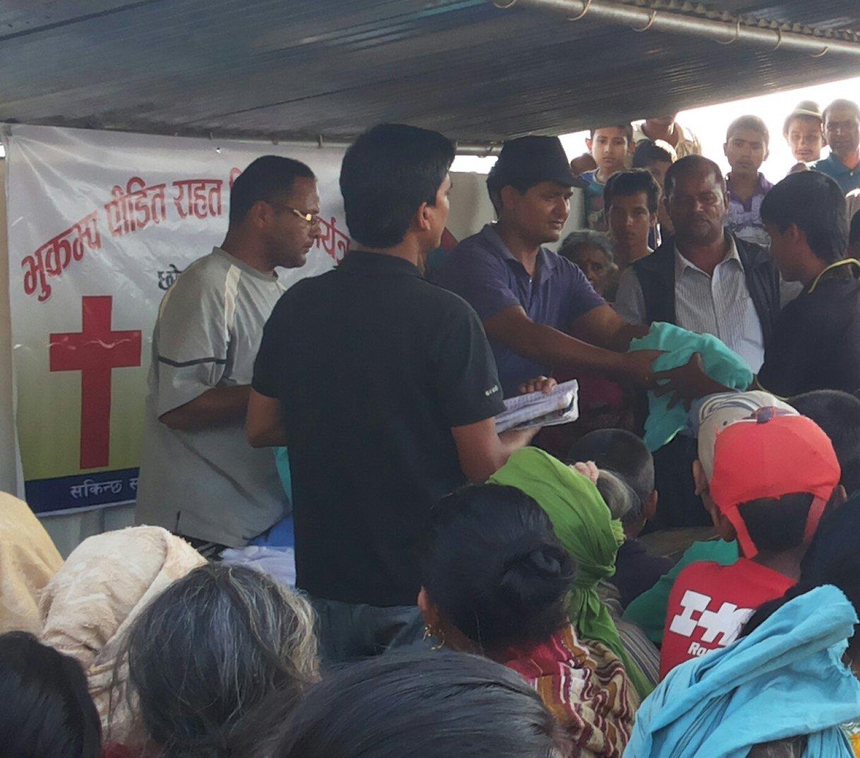 Nepal-distribution 2