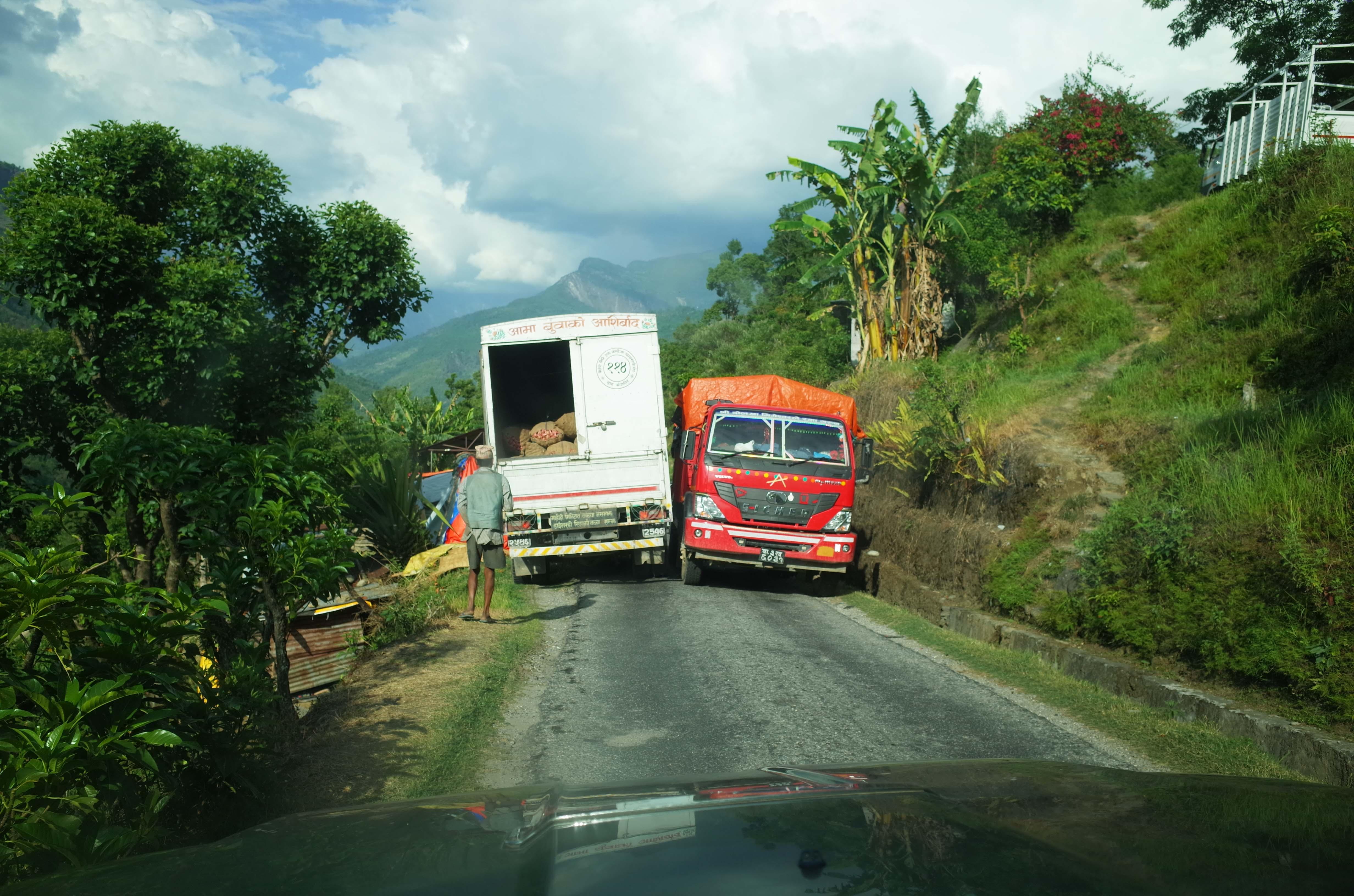 narrow roads