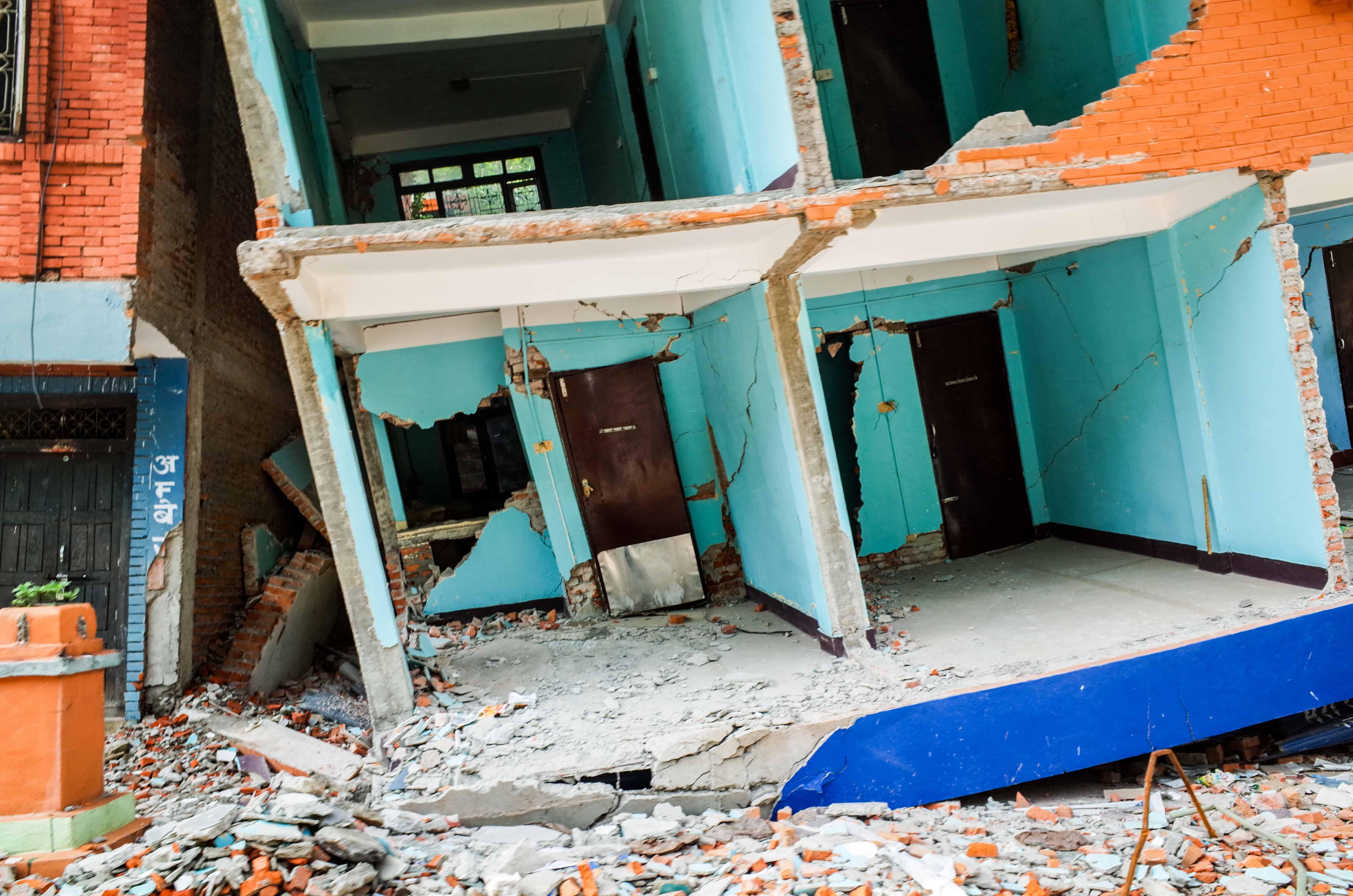 Aftershock hit Sindhupalchok very bad