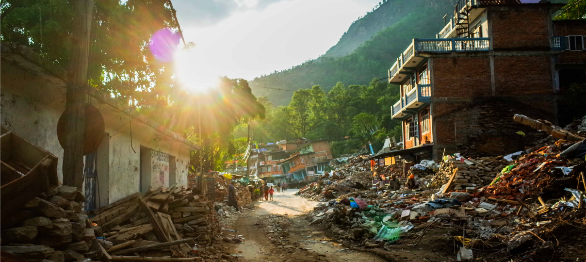 nepal relief and rehab update
