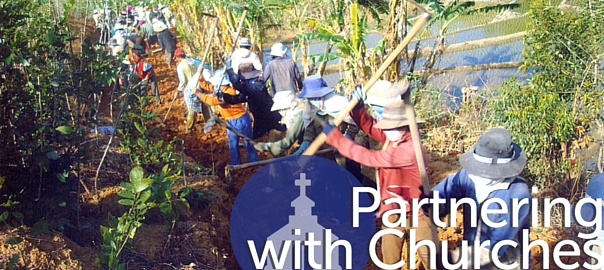 May 23 - Partnering with churches