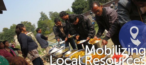 mobilizing local resources